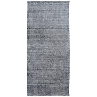 Tiara Gray Area Rug Rug Size: Runner 26 x 8