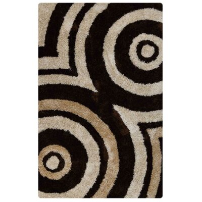 Aaliyah Contemporary Hand Tufted Beige/Brown Area Rug Rug Size: 6 x 9