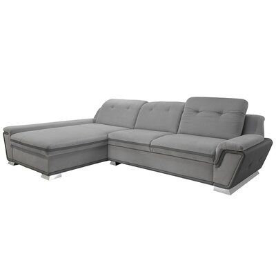 Donecia� Mini Sleeper Sectional Orientation: Left Hand Facing