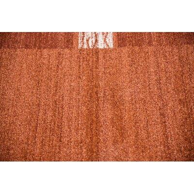 Christi Red Area Rug Rug Size: Rectangle 33 x 53