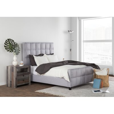 Shirli Upholstered Platform Bed Size: King