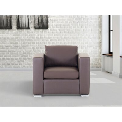 Lacasse Armchair Upholstery : Brown