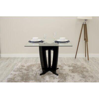 Bramlett Dining Table Finish: Black Gloss