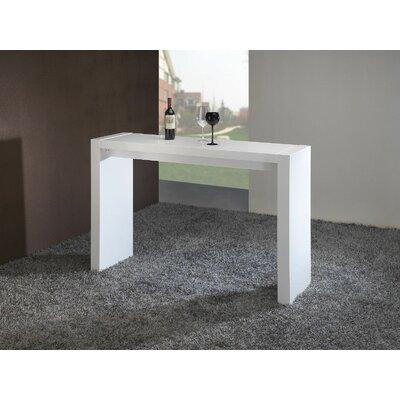 Chamaeleon Pub Table Color: White