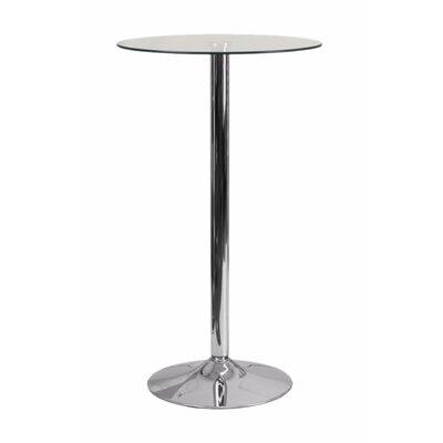 Delora Round Glass Pub Table