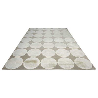 Cherise Feather Rug Rug Size: Rectangle 76 x 106