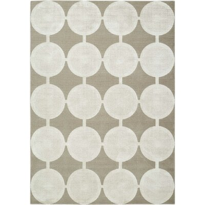 Cherise Feather Rug Rug Size: Rectangle 53 x 75