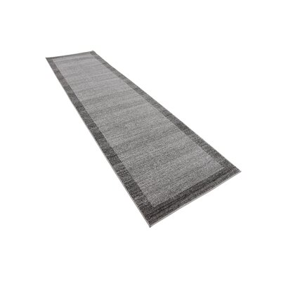 Christi Gray Area Rug Rug Size: Rectangle 10 x 3