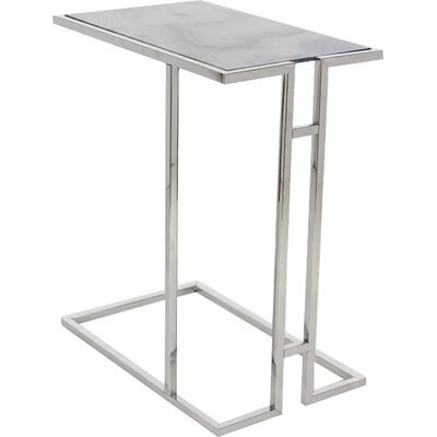 Murillo Iron Glass End Table