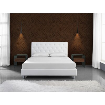 Blohm Queen Upholstered Panel Bed