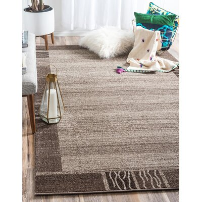 Christi Light Brown Area Rug Rug Size: Rectangle 22 x 3