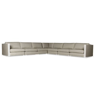 Steffi Right and Left Arms L-Shape Sectional Upholstery: Sand