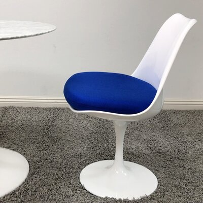 Salgado Dining Chair Upholstery Color: Blue