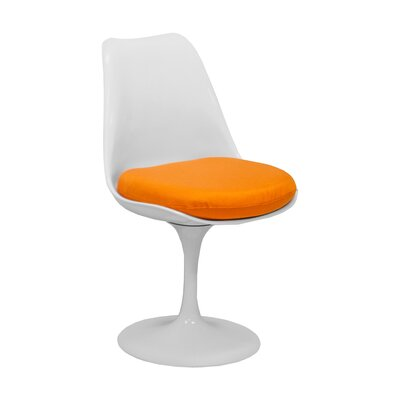 Salgado Dining Chair Upholstery Color: Orange