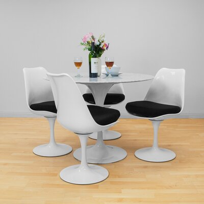 Salgado Dining Table Size: 39 diameter