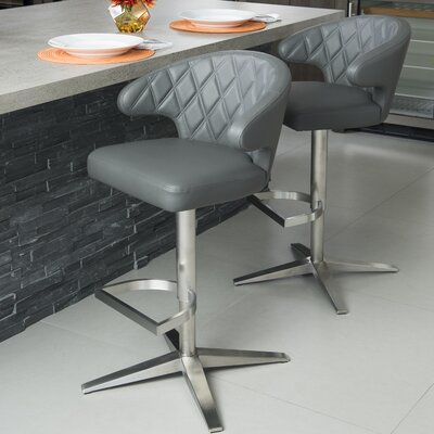 Clarette Diamond 24 Swivel Bar Stool