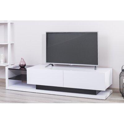 Rainbolt Lacquer Modern 70 TV Stand