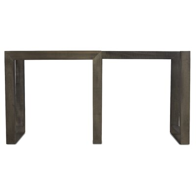 Reesa Dining Table Base Color: Nantucket, Size: 56 W x 20 D