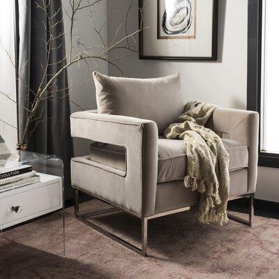 Reynaldo Armchair Upholstery: Giotto Almond