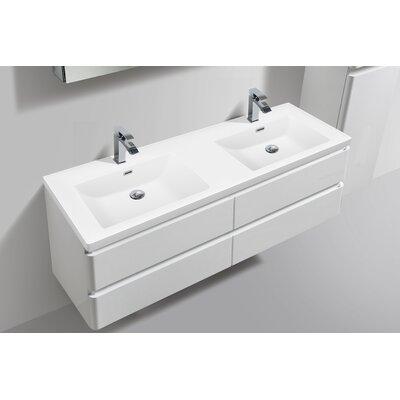 Mccarty 59 Double Bathroom Vanity Set