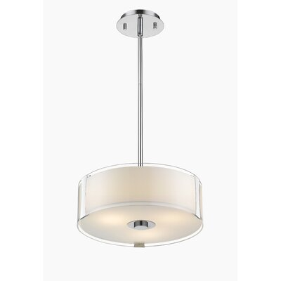 Bainbridge 3-Light Drum Pendant