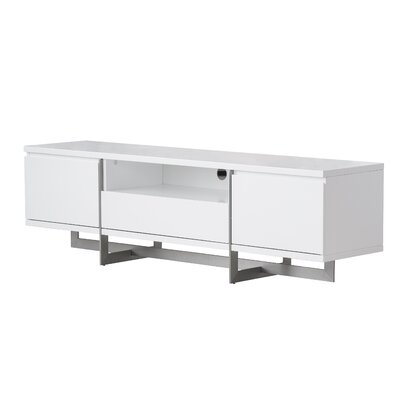 Onshuntay 71 TV Stand Color: White