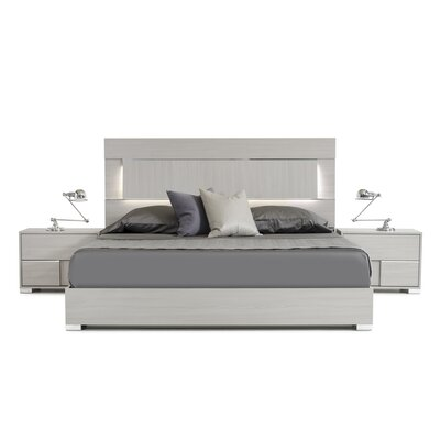 Camron Platform 3 Piece Bedroom Set Size: King
