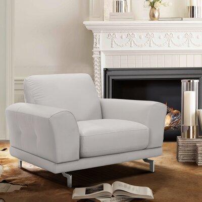 Randalholme Contemporary Armchair Upholstery: Dove Gray