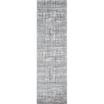 Northwick Gray Area Rug Rug Size: Runner 23 x 76