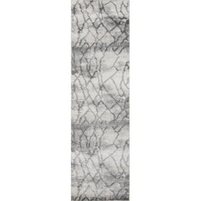 Northwick Modern Indoor Gray Area Rug Rug Size: Runner 23 x 76