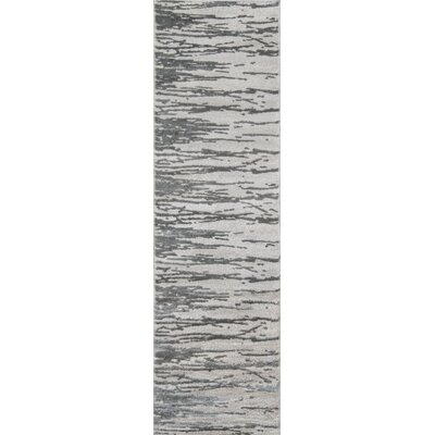 Northwick Gray Area Rug Rug Size: Runner 23 x 76