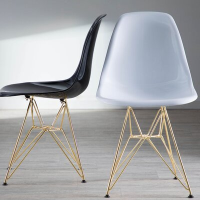 Aditya Dining Chair Finish: White