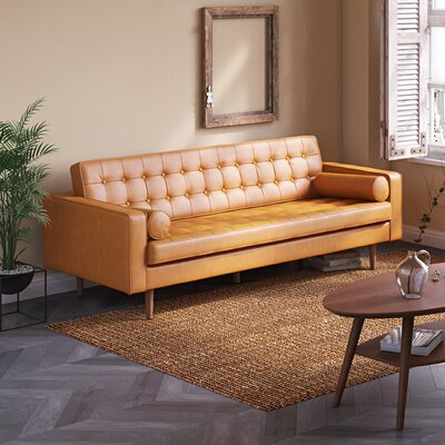 Berriman Sofa Upholstery: Honey Tan