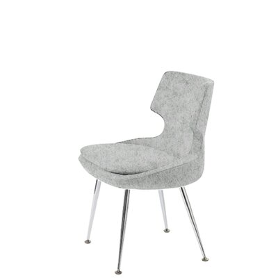 Hedges Upholstered Dining Chair Upholstery Color: Light Gray