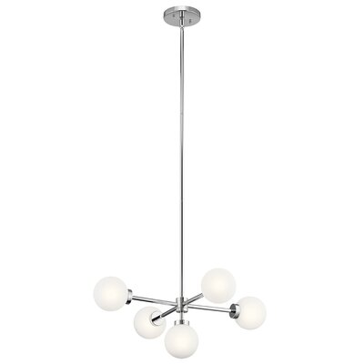 Holahan 5-Light Sputnik Chandelier