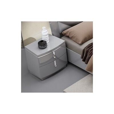 Delaine 2 Drawer Nightstand