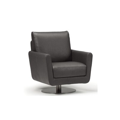 Maureen Swivel Chair Upholstery: Dark Gray