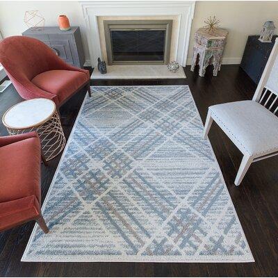 Haydel Gray Area Rug Size: 5 x 7