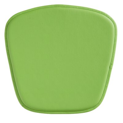 Orren Ellis Upholstered Outdoor Bench Cushion Fabric: Green