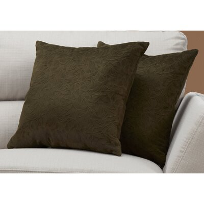Aymond Throw Pillow Color: Green