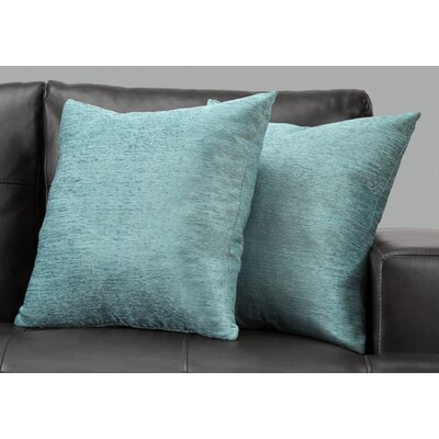 Ayre Throw Pillow Color: Blue