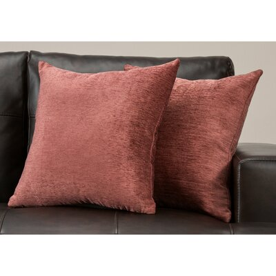 Ayre Throw Pillow Color: Rose Gold