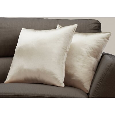 Mornington Throw Pillow Color: Gold