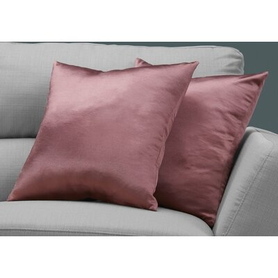 Mornington Throw Pillow Color: Pink