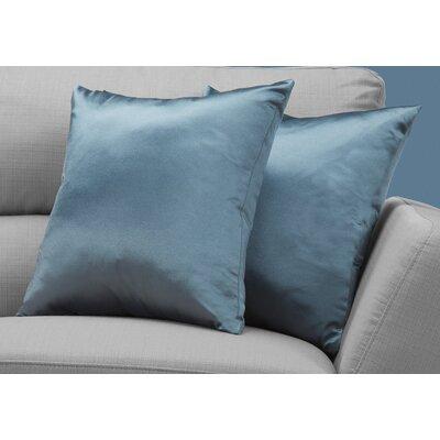 Mornington Throw Pillow Color: Blue