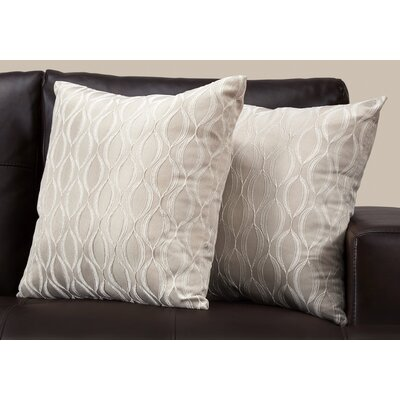 Ayward Throw Pillow Color: Taupe