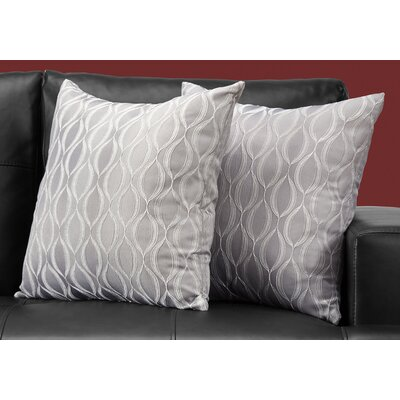 Ayward Throw Pillow Color: Gray
