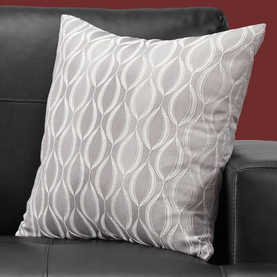Ayward Square Throw Pillow Color: Gray