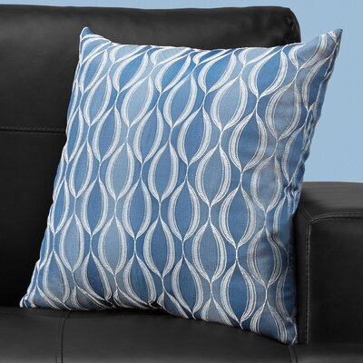 Ayward Square Throw Pillow Color: Blue