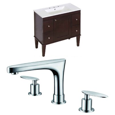 Hindman 61 Single Bathroom Vanity Set